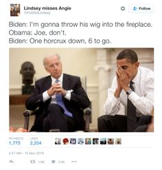 Social media has exploded with memes playing off the bromance and chemistry between President Barack Obama and Vice President Joe Biden as they begin their