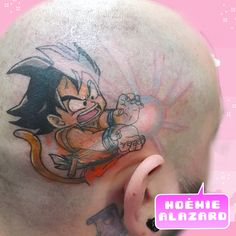 By Noemie Alazard @ Paris & Lille Goku, Geek Stuff, Paris, Tattoos, Tattoo Art, Geek Things, Montmartre Paris, Tatuajes, Tattoo