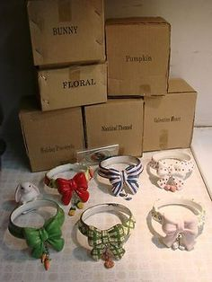 Lot of 6 yankee #candle? jar #collars - #easter, valentines, 4th of july, pumpki, View more on the LINK: http://www.zeppy.io/product/gb/2/142089942080/