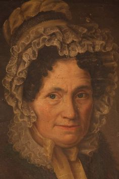 Ritratto Nobile Donna olio su carta intelaiata 1837 Francia Firmato Patritti | eBay