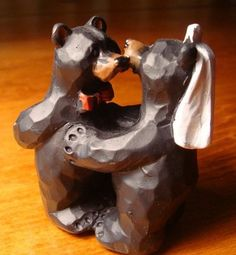 Bear Cake Topper -- perfect for two #Baylor Bears!