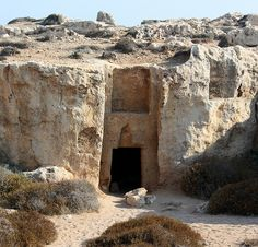 Amazing Cyprus: Tombs of the Kings, Paphos, Cyprus - these were amazing.