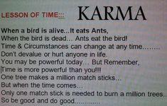 Lesson Of Time: KARMA