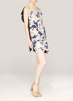 3.1 Phillip LimPrinted silk-satin dress