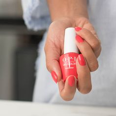 #ShadeStory: #CajunShrimp 🦐 This shade has a spicy coral hue to match the spicy shrimp -- one of New Orleans' most popular dish, and our co-founder @1stladyofnails' favorite meal from Nola. Coral Gel Nails, Opi Gel Nails, Opi Nail Colors, Manicure, Interview Nails, Long Lasting Nail Polish, Perfume Recipes, Red Nail Polish, Gel Color
