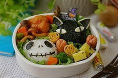 japanese halloween lunch