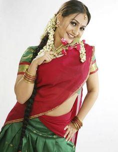 Colourful Indians: Aashi Thakur in Half Saree Pics Beautiful Blonde Girl, Beautiful Girl Indian, Most Beautiful Indian Actress, Beautiful Saree, Most Beautiful Women, Women Friendship, Half Saree Designs, South Indian Actress, Indian Beauty Saree