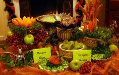 Feast table ideas.