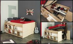Space-Up Double Bed - Room To Grow