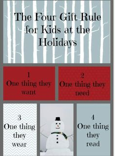 The Four Gifts at Christmas Kids Rule