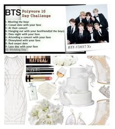 """""""BTS Polyvore 10 Day Challenge: Day 10"""" by carol-comt ❤ liked on Polyvore featuring Post-It, Hervé Léger, Bella Belle, Garrard, Ippolita, Forever 21, NYX, MAC Cosmetics, NARS Cosmetics and Gucci"""