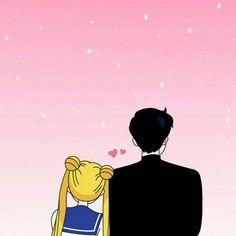 Darién y Serena Darien Sailor Moon, Sailor Moom, Sailor Neptune, Sailor Moon Aesthetic, Mermaid Melody, Sailor Moon Wallpaper, Sailor Moon Character, Sailor Moon Manga, Sailor Scouts