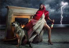 Reading Raves: Red Riding Hood Photography