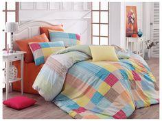 Bavlněné povlečení Karo Oranžové Home Decor Bedding, Comforters, Throw Pillows, Blanket, Furniture, Cushions, Decorative Pillows, Home Furnishings, Decor Pillows