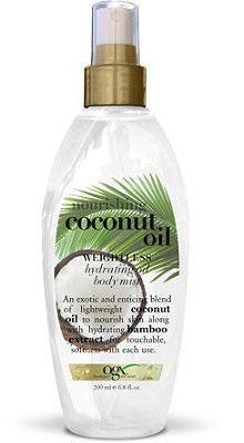 Nourishing Coconut Oil Body Mist by Organix http://starrplanet.com/reviews/?p=2328