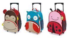 Et hop chacun sa valise! Ce trio de valises animaux donnera envie à votre enfant de la porter tout seul comme un grand! Doodle, Voici, Design, Train Station, Children, Travel, Animaux, Scribble