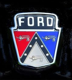 Crest - when I was little my father sold Fords, we owned Fords for many years.