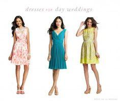 Dresses for Daytime Weddings