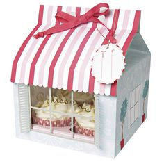Large Patisserie Cupcake Boxes