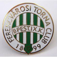A newer badge featuring Ferencvaros Badge Logo, Passion, Football, Futbol, American Football, Soccer Ball, Soccer