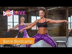 """Crunch Live """"Barre Bootcamp"""" Preview - YouTube"""