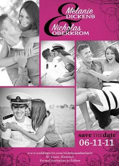 {Nicholas & Melanie} -- Save the Date  [ photos courtesy of i Kandi Photography & Angelina Photography
