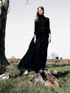 """Dark Romance""  Vogue China September 2015 Model: Laura Julie Photographer: Daniel Jackson"