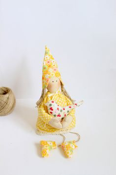 Spring+elf++Fairy+doll++home+decor+toy++gift+by+MiracleInspiration,+$25.50