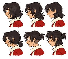 I'll come up with a cool title later — I love how you draw keiths hair so much holy shit