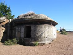 WWII observation bunker at the Marin Headlands, California