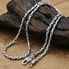 de la cadena de extensión de plata 5,5 cm Armadura de 55 x 2 mm de extensión cadena de plata
