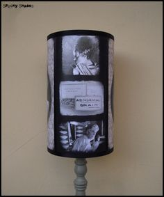Frankenstein's Bride lamp shade Lampshade by SpookyShades on Etsy
