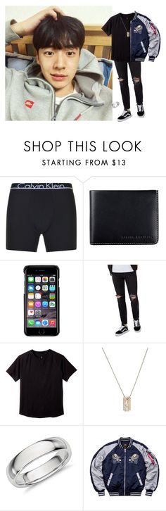 """*out to eat with some friends + my wife* ~taewoo"" by anon-roleplay ❤ liked on Polyvore featuring Calvin Klein, Status Anxiety, County Of Milan, Topman, Yves Saint Laurent, Alpha Industries, men's fashion and menswear"
