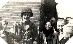 Pfc David Kenyon Webster.. Eindhoven sept 1944 (506th E comp 101st AB)