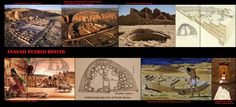 Pueblo Bonito, uno dei più famosi siti del periodo Anasazi, fu occupata tra l'828 ed il 1126. Copre un'area di quasi 8000 m² e comprende tra 650 e 800 vani che raggiungono anche i 4 o 5 piani di altezza, con mura spesse fino ad un metro. Durante le ultime fasi di costruzione, alcune delle stanze ai piani inferiori furono riempite con detriti per sopportare meglio il peso della struttura. Può darsi che Pueblo Bonito non fosse un vero villaggio ma un centro rituale.