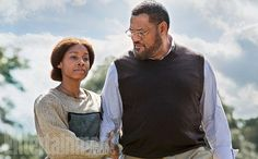 Roots (2016) Anika Noni Rose as Kizzy &  Laurence Fishburne (as Alex Haley)