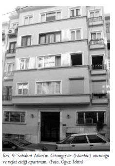 Sabahat Atlan (1913-1984), Turkish numismatist, specialist of the coinage of Side, Pamphylia; apartment in Istanbul (from Tekin, Arkeoloji ve Sanat 131, 2009, p. 127-135).