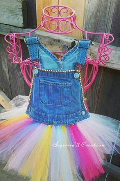 Check out this item in my Etsy shop https://www.etsy.com/listing/275287548/denim-overall-tutu-dress