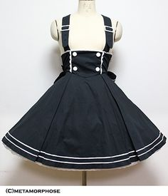 [Mar.30th on Sale] Suspender Sailor Skirt