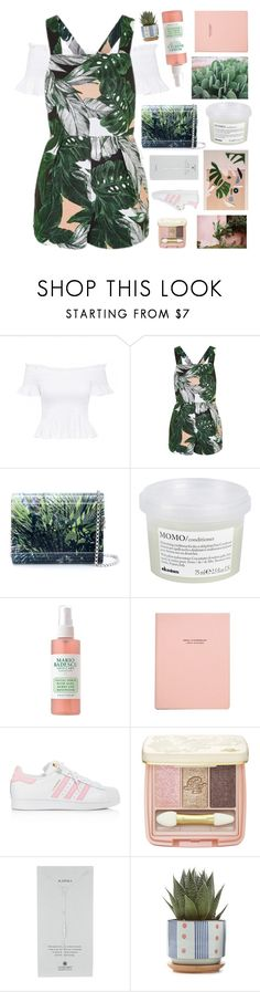 """""""Untitled #2927"""" by tacoxcat ❤ liked on Polyvore featuring Topshop, Jimmy Choo, Davines, adidas, Paul & Joe and Dogeared"""