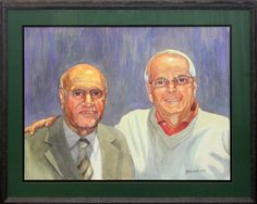 Mr. Kapoor and Mr. Weale. Watercolour.