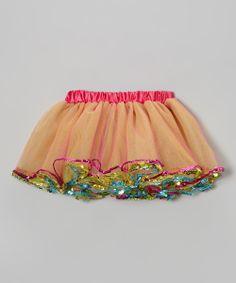 Rainbow Sequin Tutu - Toddler & Girls