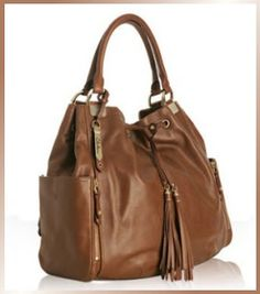 Designer s House Cole Haan Leather Kendal Drawstring Tote from designer-handbags-and-shoes.blogspot.com