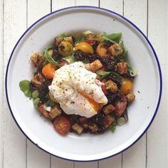 Fried Irish Breakfast Salad