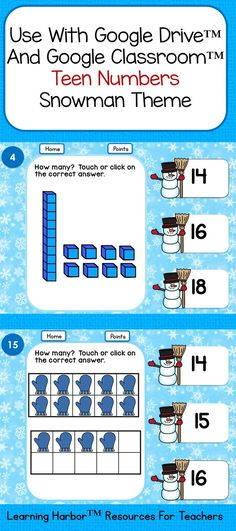 Mixed Addition and Subtraction Within 10 for Google Classroom ...