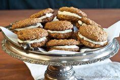 Oatmeal Whoopie Pies - gluten-free & Low FODMAP -