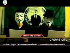 Anonymous Canada- Attention Canadians! - YouTube