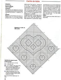 Схема к салфетке с сердцами
