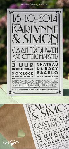 letterpers_letterpress_trouwkaart_wedding_card_bruiloft_vintage_handlettering_handgeschreven_jaren20_kraft_envelop