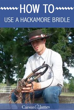 The hackamore is one of the best ways to train your horse because it allows him to get a better feel of what you're asking him to do. The end result is a horse that responds quicker and more accurate to what you're wanting. After your horse graduates from the hackamore bridle, you can start him in a half breed or spade bit.